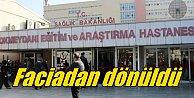 Hastanede dehşet: Duvar kaydı, çocuk hastalar son anda kurtarıldı