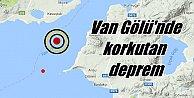 Van#039;da deprem; Van Gölü#039;nde deprem korkuttu