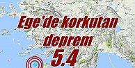 Ege Denizi#039;nde deprem; Bodrum ve Marmaris sallandı
