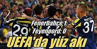 Fenerbahçe Feyenoord#039;u tek golle geçti, lider oldu