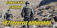 Hakkari#039;de 147 terörist öldürüldü: Çukurca#039;da süpürme harekatı