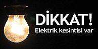 İstanbul#039;da elektrik kesintisi...