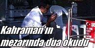 Şehit Ömer Halisdemir#039;in mezarına ziyaretçi akını
