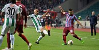 Trabzonspor altın değerinde 3 puanı kaptı.