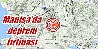 Akhisar#039;da deprem; Akhisar sabaha karşı 4.4 ile sallandı