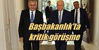 Ankara#039;da kritik zirve, Başbakan Yıldırım, Bahçeli ile görüşecek