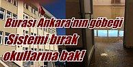 Ankara#039;da okul skandalı; Çürük binayı lağım bastı