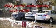 Antalya#039;da büyük patlama