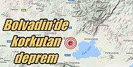 Bolvadin'de deprem; Afyon Bolvadin 3.8 ile sallandı