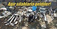 Hakkari'de Teröristler uçaksavar ve havanla saldırdı