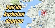 Van#039;da deprem; Van Çalımlı 4.2 ile sallandı