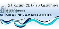 İstanbul#039;da su kesintileri, sular ne zaman gelecek?  21 Kasım 2016