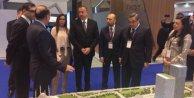 Haydar Aliyev Ağaoğlu standını ziyaret etti.