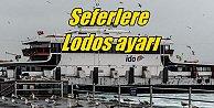 İstanbul#039;da İDO ve BUDO seferleri iptal; Lodos sefer iptal ettirdi