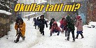 İstanbul#039;da okullara kar tatili var mı ? 1 Aralık 2016