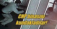Kayseri'de CHP binasını kundakladılar