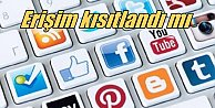 Twitter, Facebook ve Youtube'a erişim güçlükle yapılıyor
