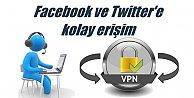 WhatsApp, twitter ve Facebook çalışmıyor, VPN nasıl kurulur..