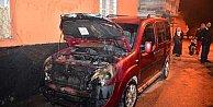 Adana'da PKK'lı teröristler araç kundakladı