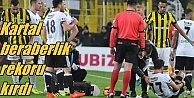 Beşiktaş geleneği bozmadı: Fenerbahçe 0 - Beşiktaş 0