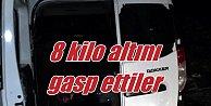 Bitlis#039;te milyonluk soygun; 8 kilo altını alarak kaçtılar