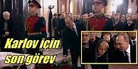 Büyükelçi Karlov, son yolculuğuna uğurlanıyor