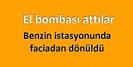 Çağlayan#039;da akaryakıt istasyonuna bombalı saldırı