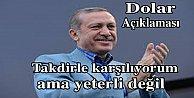 Cumhurbaşkanı Erdoğan#039;dan dolar açıklaması