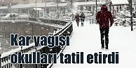 Kar takili; Okullar tatil edildi mi,