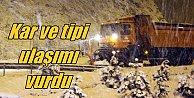 Kar ve tipi yollarda ulaşımı vurdu, Bolu ve Bursa#039;ya dikkat