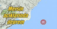 Mersin#039;de deprem; Kurtuluş açıklarında korkutan deprem