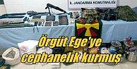 PKK, İzmir Kemalpaşa#039;ya cephane yığmış
