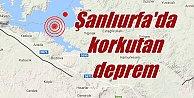 Şanlıurfa#039;da deprem, Kasımkuyu 3.6 ile sallandı