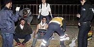 Son Dakika Antalya; Polisten kaçarken bu hale geldiler
