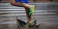 Su alan ayakkabılara pratik çözüm elinizin altında