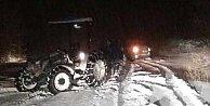 Uludağ#039;da 30 araç ve çok sayıda vatandaş mahsur