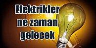Ümraniye, Ataşehir, Üsküdar ve Sultanbeyli#039;de elekrik kesintisi