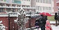 Uşak#039;ta okullar tatil: Kar yağışı bekleniyor