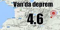 Van'da deprem, Gürpınar 4.6 ile sallandı 13 Aralık 2016