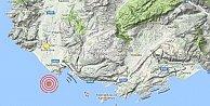 Antalya deprem sarsıldı: Antalya Kaş'ta deprem 4.1