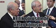 CHP ve MHP liderleri TBMM#039;de buluştu: İkinci tur ele alındı