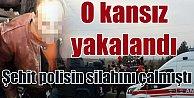 Diyarbakır#039;da şehit polisin silahını çalan kansız yakalandı