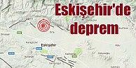 Son Depremler, Eskişehir#39;de deprem; Eskişehir 3.4 ile panikledi