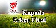 Kupada Beşiktaş-Fenerbahçe eşleşti