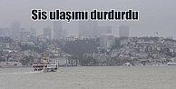 Sis İstanbul#039;da boğaz trafiğini kilitledi