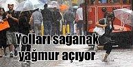 Son dakika İstanbul'da hava durumu; Yağmur karları eritiyor