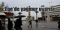 Son Dakika İzmir; Yağmur hayatı olumsuz etkiliyor