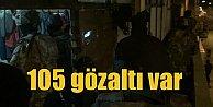 28 ilde DEAŞ operasyonu; 105 kişi gözaltına alındı