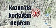 Adana Kozan'da deprem; Kozan 4.0 ile sallandı