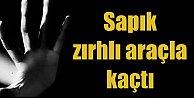 Diyarbakır#039;da sapık zırhlı araçla kaçtı